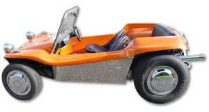 Classic Car Hire Lanarkshire Scotland VW Beach Buggy - Events and Promotions