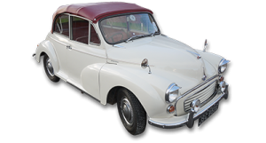 Classic Car Hire Morris Minor Convertible Weddings Proms Events Lanarkshire Glasgow Edinburgh