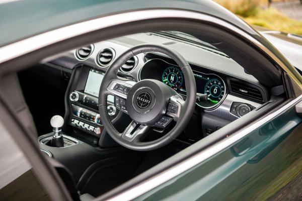 Classic Car Hire Glasgow and Edinburgh 2018 Ford Mustang Bullitt interior