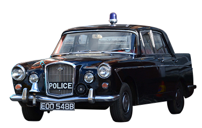 Classic Car Hire Wolseley 6-110 Police Car North East Constabulary